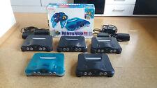 Nintendo 64 N64 5x Konsole OVP 26 Spiele u. Game Killer Modul