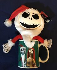 The Nightmare Before Christmas Santa Jack Plush Doll In Mug - Teal w/ Characters