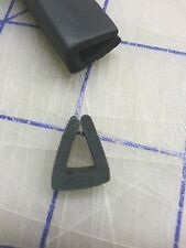 """1/4"""" Rubber Edge Trim HR71J SOLD BY THE FOOT in Black U Channel EPDM"""