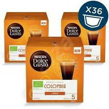 Nescafe Dolce Gusto Colombia Sierra Nevada Lungo Coffee Pods 3 Pack 36 Capsules