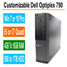 Dell Optiplex Desktop PC 790 Windows 7/10 Intel i5/i7 Quad Core 4GB, 8GB, 16GB