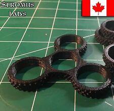 Fidget hand Spinner DIY SHELL ONLY Frame tri toys Body Hand Black Gold