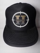 Vintage 1990s HOFFMANN INC Design Build Firm Advertising SNAPBACK TRUCKER HAT