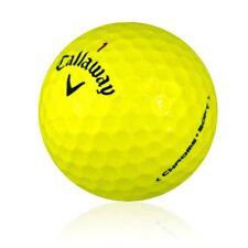 48 Callaway Chrome Soft Yellow Mint Used Golf Balls AAAAA