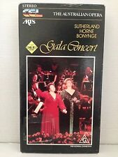 GALA CONCERT ~ THE AUSTRALIAN OPERA ~JOAN SUTHERLAND ~ MARILYN HORNE ~ VHS VIDEO