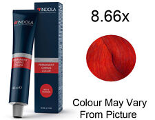 Indola Profession 8.66x - Light Blonde Extra Red Permanent Hair Color 60g