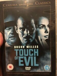 Touch Of Evil (DVD / Orson Welles 1958) Regions 2, 4, and 5