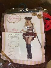 """Sexy Swashbuckler Costume  """" Eye Candy"""" Size M (8-10)"""