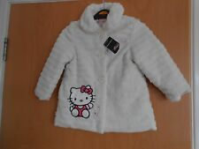 Filles manteau de fourrure, hello kitty, belle, george, 2-3 ans, bnwt, charmant cadeau!