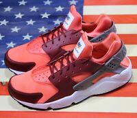 Nike Air Huarache Run Running Shoes Team Red Coral White [318429-054] Men's 11.5