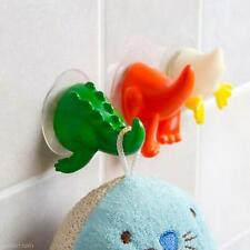 2x Animal Tail Hangers Suction Hooks Kitchen Wall Hanger Bathroom Sucker Holder