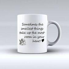 10 oz WINNIE THE POOH QUOTE Personalised Mug ADD PHOTO TEXT