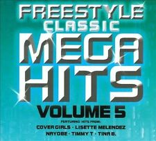 NEW Freestyle Classic Mega Hits Volume 5 (Audio CD)