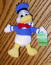 Donald Duck Mini Beanie Plush Kellogg'S Exclusive Premium Walt Disney World