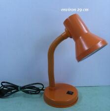 lampe de bureau SARLAM lamp desk vintage orange