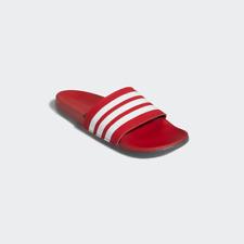 Adidas ADILETTE COMFORT SLIDES Red/White Size 9