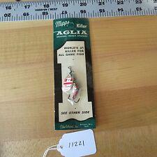 New listing Vintage Mepps Aglia 1 fishing lure (Sheldons Inc.) (lot#11221-B)