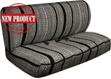 Truck Pickup Suv Car Saddle Blanket Bench Seat Cover Chevrolet Dodge Ford Gray