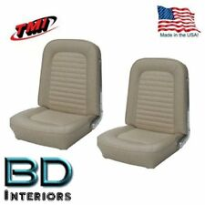 1966 - 1967 Ford Bronco Replacement Seat Upholstery - Front Buckets, Made in USA