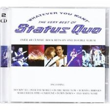 STATUS QUO - WHATEVER YOU WANT-THE VERY BEST OF;2 CD 41 TRACKS CLASSIC ROCK NEU