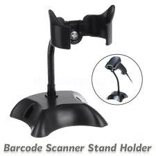Barcode Scanner Stand Holder For POS Reader Symbol Label Laser Code Black Iron