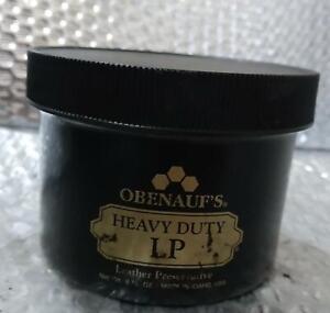 OBENAUF'S HEAVY DUTY LP LEATHER PRESERVATIVE 8 OZ. JAR
