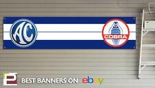 AC Cobra Garaje Taller Banner, Banner De Pvc Con Ojales, Shelby