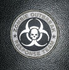 ZOMBIE HUNTER SWAT OUTBREAK RESPONSE TEAM USA SWAT VELCRO® BRAND FASTENER PATCH