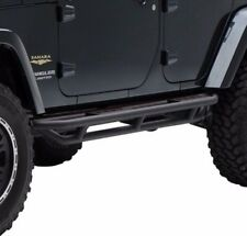 Smittybilt SRC Side Armor Protection & Steps 07-17 4dr Jeep Wrangler JK 76634