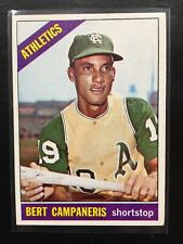 1966 TOPPS BERT CAMPANERIS, #175, NM