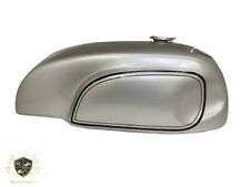 Norton Manx Triton Triumph Wideline Featherbed Silver Gas/Petrol Tank (Fits For)