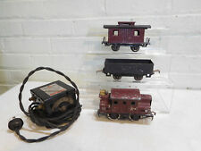 Lionel Pre-War O Scale 150 901 801 Train Set with Midgetoy Transformer