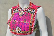 Kuchi Afghan Tribal Fusion Choli Belly Dance Handmade Stitchable Crop Top KC-523