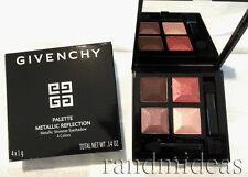 Givenchy Metallic Reflection Shimmer Eyeshadow 4 Colors-Fall Vinyl LE-RARE-New~*