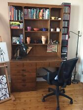 Vintage Ethan Allen Maple Desk and Hutch Crp Minimal wear One owner since 1971