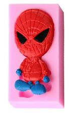 Baby Spiderman Silicone Mold for Gum Paste, Fondant, Chocolate, Crafts