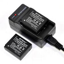 Charger +2x Battery For Panasonic DMW-BLG10E DMW-BLG10GT DMW-BLG10PP DMC-GX7 GF6