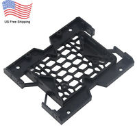 "5.25"" to 3.5""/2.5"" SSD HDD Tray Caddy Case Adapter Cooling Fan Mounting Bracket"