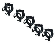Zilco Bridle Bracket Holder PVC Coated Halter Gear Stables Black