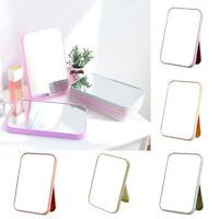 Large Vanity Mirror Desktop Makeup Mirrors + Adjust Stand Random Color Free Post