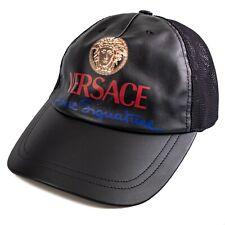 £350 VERSACE Home Signature Medusa Logo Baseball Cap Hat S 58cm | 100% Authentic