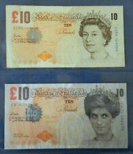 UK British Banksy Tenner Di-faced to barely legal 2004 POW Original - Genuine