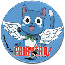 **License** Fairy Tail SD Happy Flying 1.25'' Button #7678