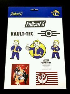 Fallout 4 - A4 Sticker Sheet - New Sealed