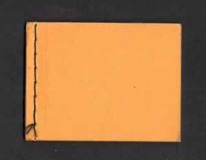 UNDATED STITCHED DUMMY BOOKLET