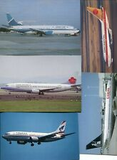 More details for boeing 737 - 100 postcards - all different - lot 7