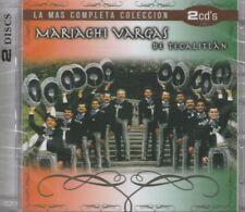 NEW- La Mas Completa Coleccion 2 CDS Mariachi Vargas De Tecalitan SHIPS NOW !