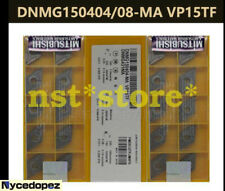 New MITSUBISHI CNC Blade DNMG150404-MA VP15TF Carbide Insert 10Pcs/Pack