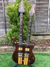 ARIA DOUBLE NECK SUPERTWIN 6 & 12 STRING ELECTRIC GUITAR