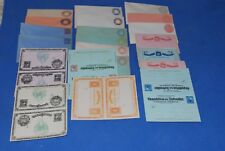 Salvador 21 different envelope postal return card mint sheet stationery